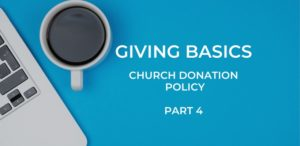 Donation Policy